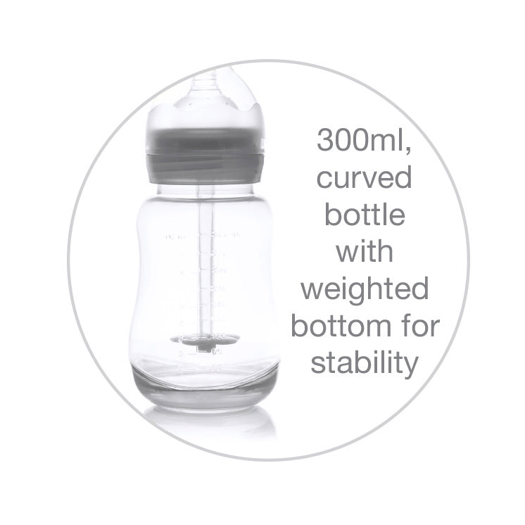 Snookums 300ml Colicalm Wide Neck Bottle