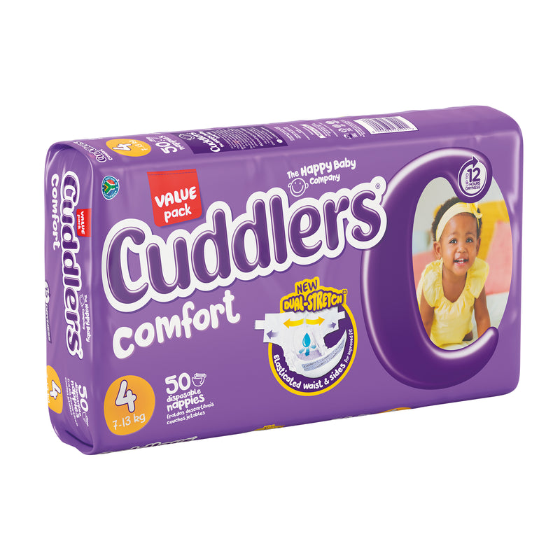 Cuddlers Comfort - Size 4 - 50's (Value Pack)