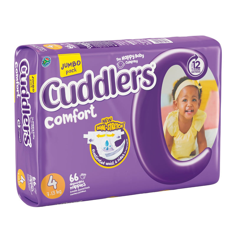 Cuddlers Comfort - Size 4 - 66's (Jumbo Pack)