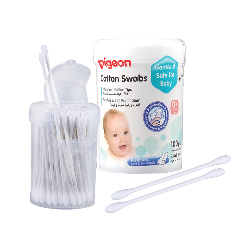 Pigeon Cotton Buds 100-pack