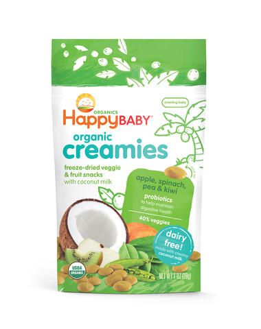 Happy Family Organic Coconut Creamies