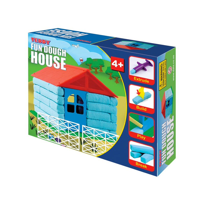 Crafty Kidz Teddy Fun Dough House