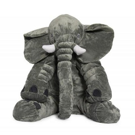 Elephant Baby Pillow - Grey