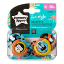 Tommee Tippee Fun Style Soother - 18-36m - 2-Pack