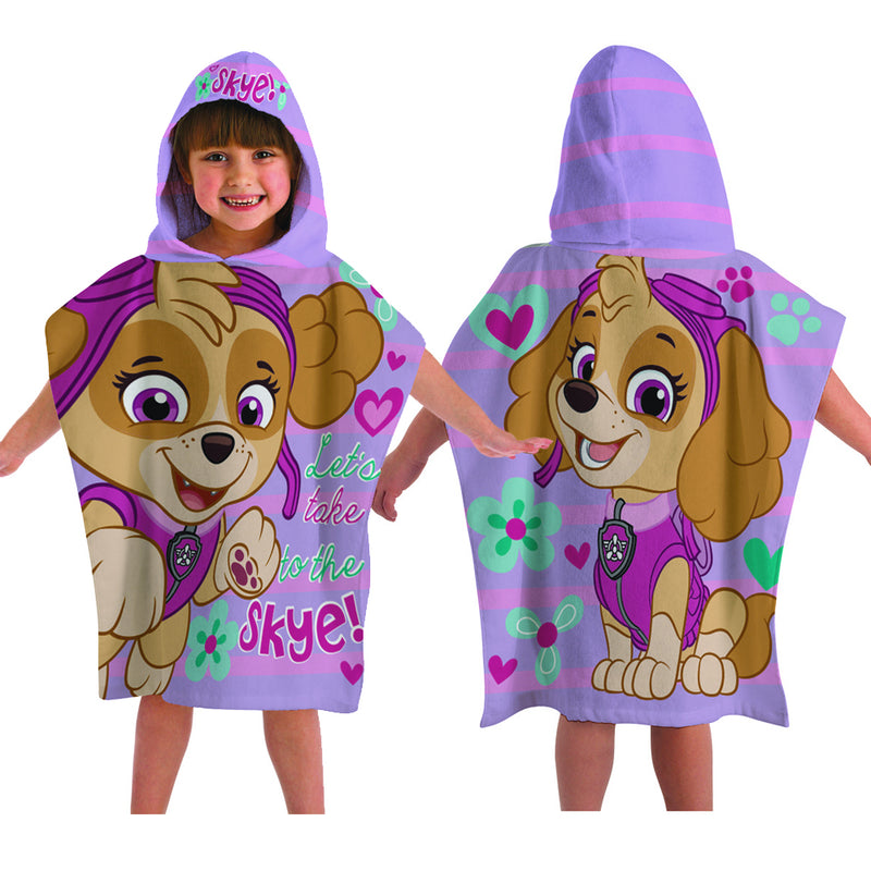 Character Hooded Towel - Paw Patrol Pink