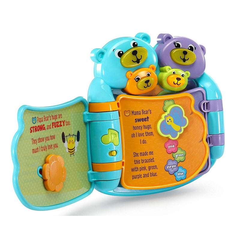 LeapFrog Hug & Learn Bear Book - Blue