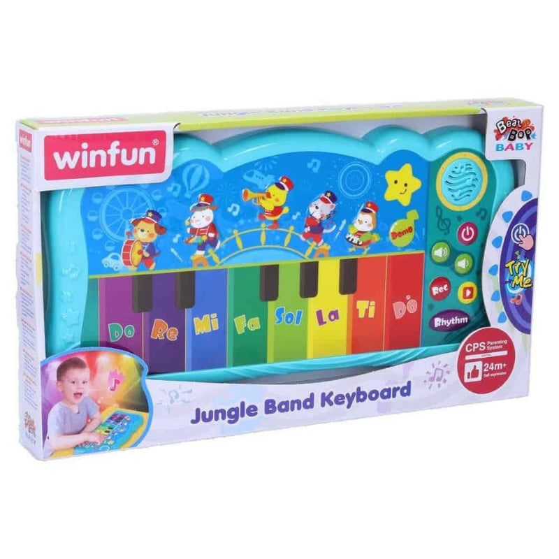 Winfun Jungle Band Keyboard
