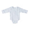 Mother's Choice Long-sleeve White Body Vest