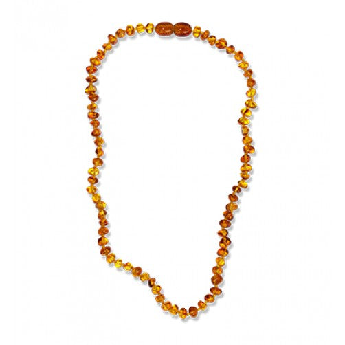 BiddyKins Light Baltic Amber Necklace