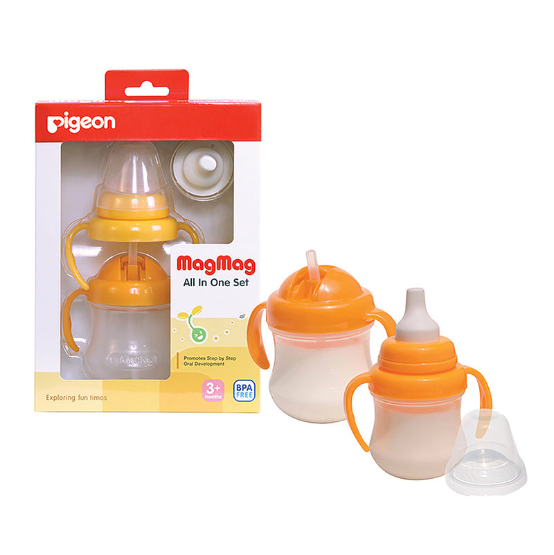 Pigeon Mag Mag All-In-One Cup Set