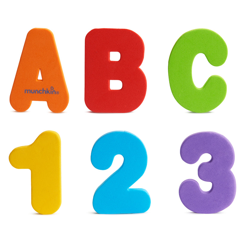 Munchkin Bath Letters & Numbers - 36 Piece