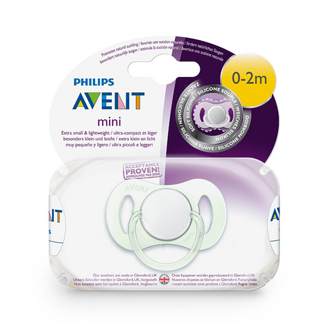 Philips AVENT Mini Newborn Soother 0-2m - Single