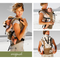 African Baby Carrier Beige Bushman Animal Print