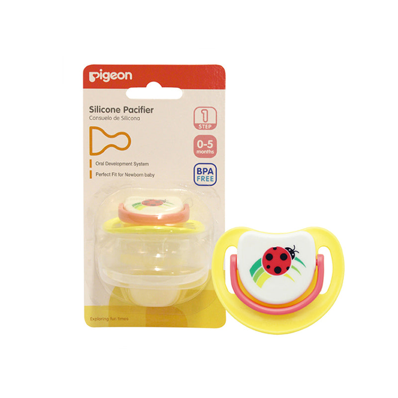 Pigeon Silicone Pacifier Step 1 (0-5m)