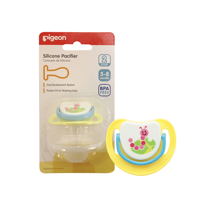 Pigeon Silicone Pacifier Step 2 (5-8m)