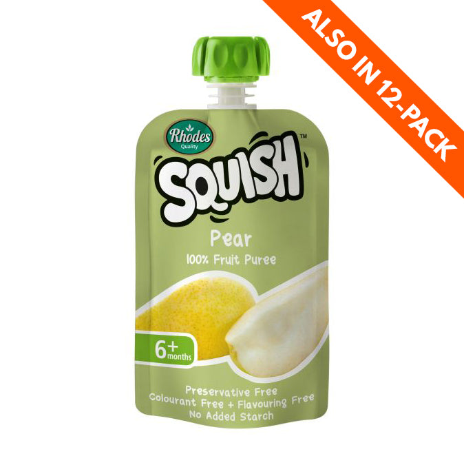 Rhodes Squish Baby Food - Pear