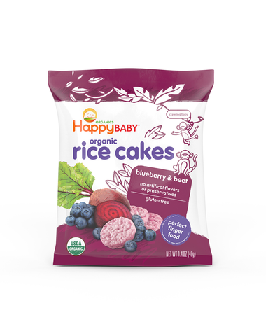 Happy Family Organic Rice Cakes