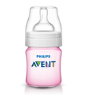 Philips AVENT Classic+ Feeding Bottle 125ml - PINK