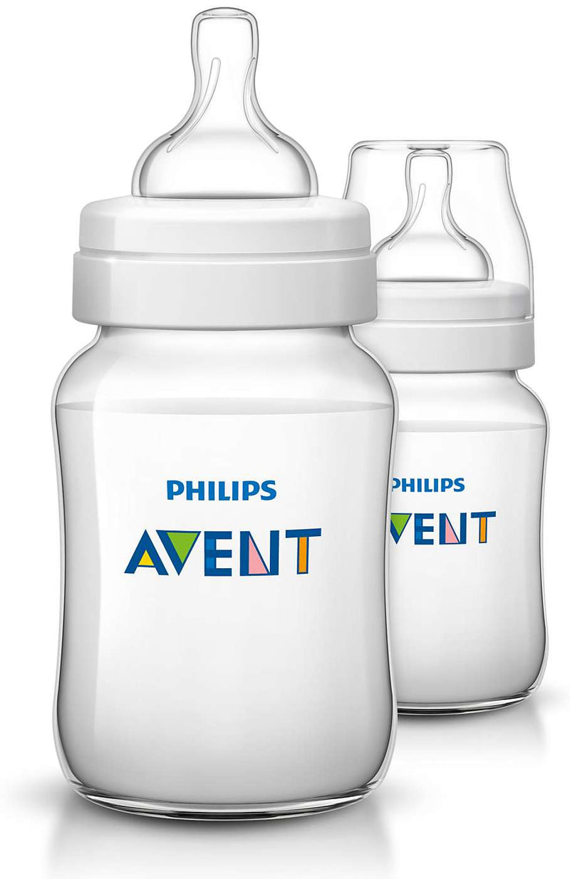 Philips AVENT Classic+ Feeding Bottle 260ml - Twin Pack