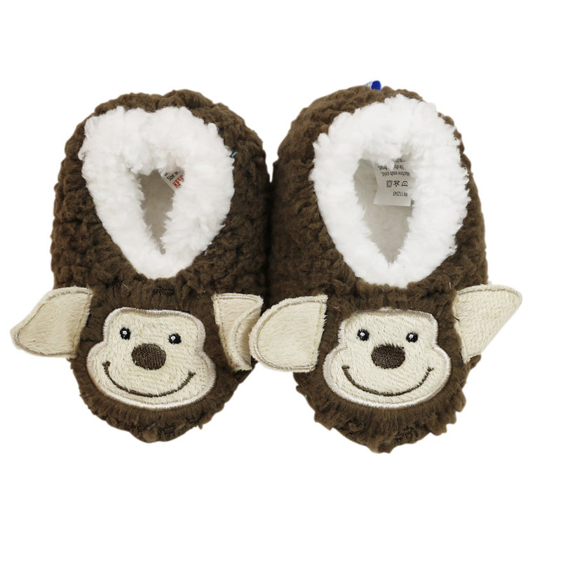 Snoozies Baby Furry Footpals Monkey