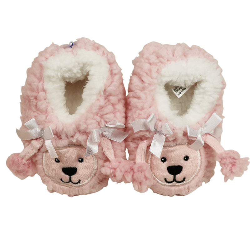 Snoozies Baby Furry Footpals Poodle