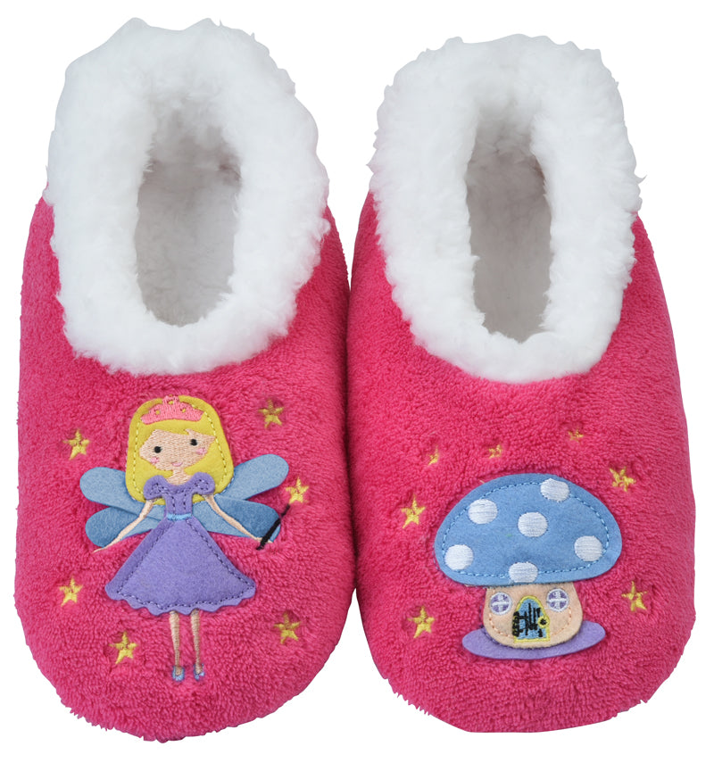 Snoozies Kids Furry Footpals Fairytale Fairy