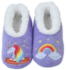 Snoozies Kids Furry Footpals Fairytale Unicorn