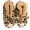 Snoozies Ladies Furry Critters Leopard