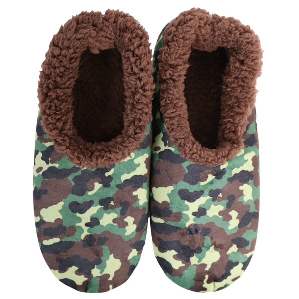 Snoozies Kids - Camo Green