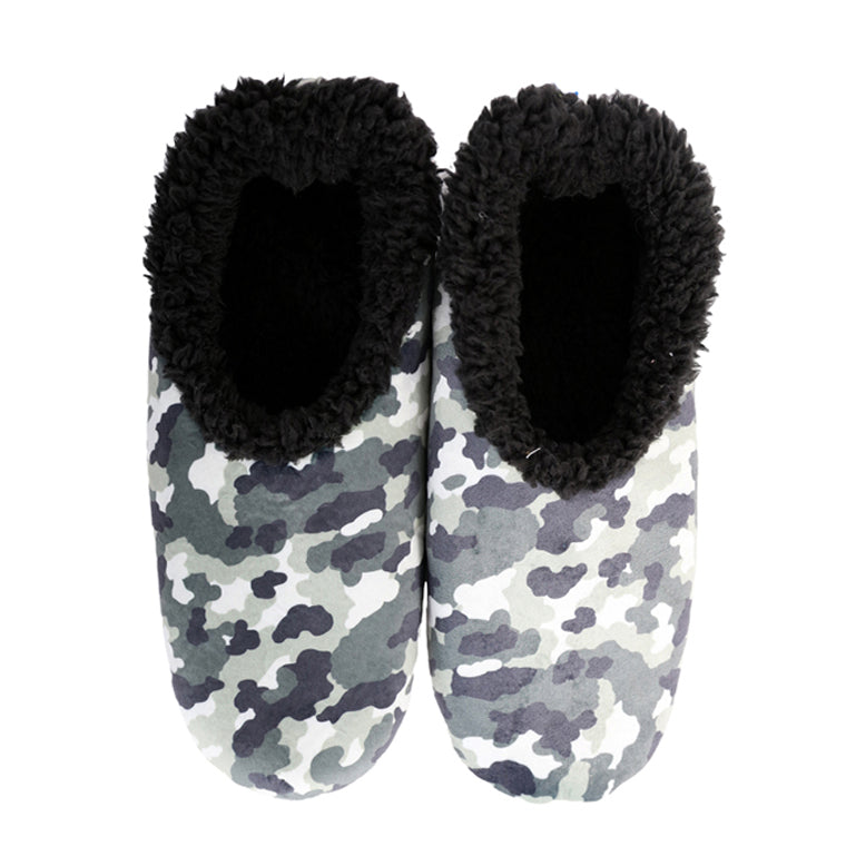 Snoozies Kids - Camo Grey