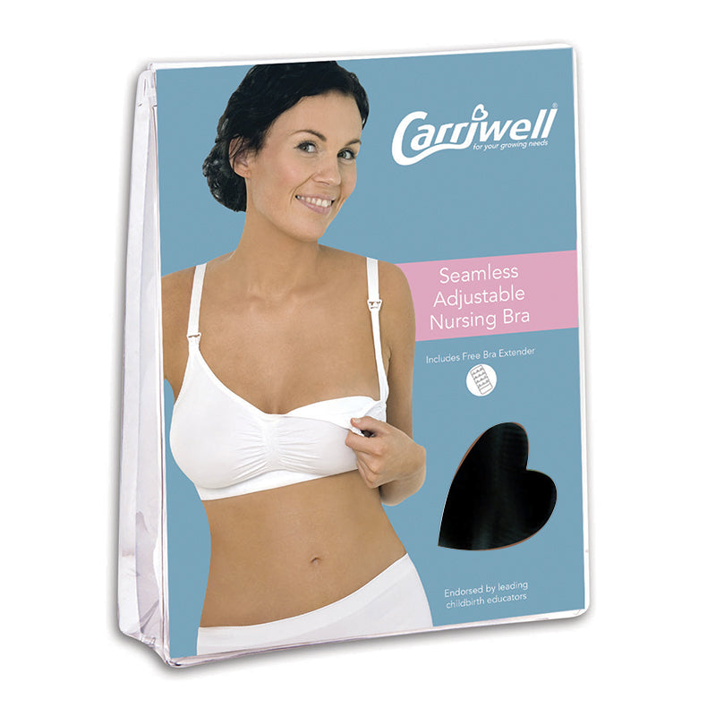 Carriwell Seamless Adjustable Nursing Bra