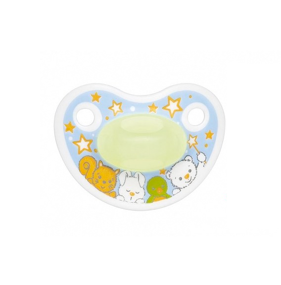 bibi® Happiness Glow-In-The-Dark Soother 6-16m