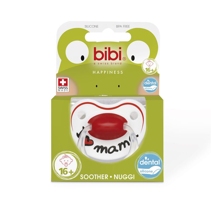 bibi® Happiness 'I Love Mama' Soother