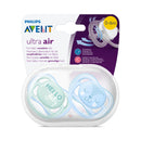 Philips AVENT Ultra-Air Deco Soother 0-6m - 2 Pack