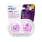 Philips AVENT Ultra-Soft Soother 0-6m - 2 Pack
