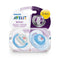 Philips AVENT Fashion 'I Love' Soother 0-6m - 2 Pack