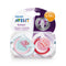 Philips AVENT Fashion 'I Love' Soother 6-18m - 2 Pack