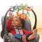Spiral Car Seat Activity Toy