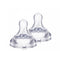 bibi® Silicone Natural Teats - 2 Pack