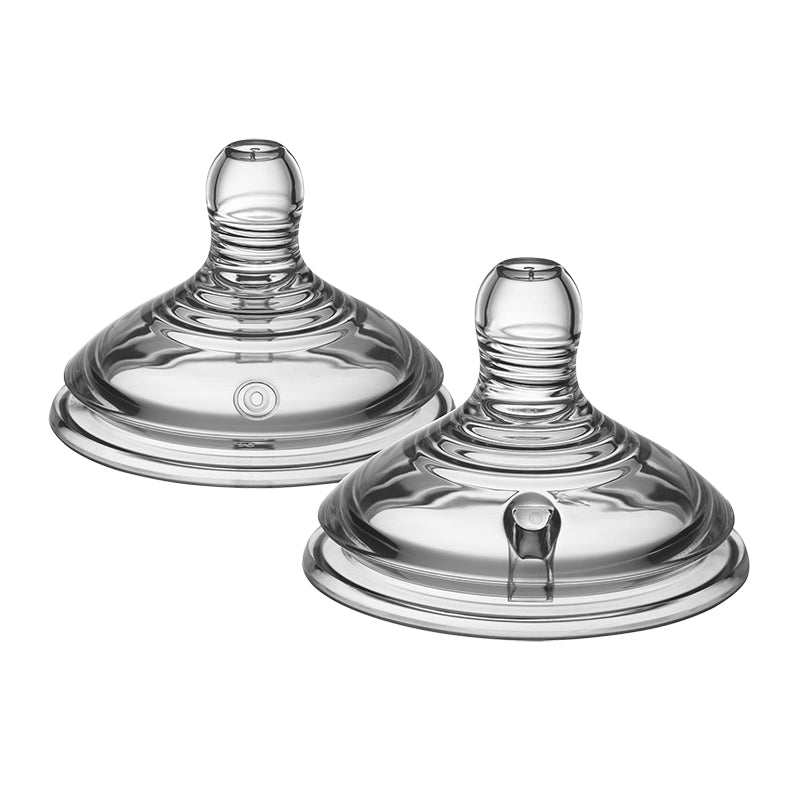 Tommee Tippee Closer To Nature Teats - 2-pack