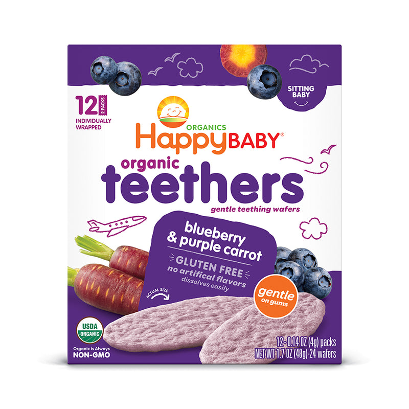 Happy Family Organic Baby Teethers - Various