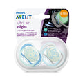 Philips AVENT Ultra-Air Night-Time Soother 6-18m - 2 Pack