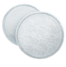 Philips AVENT Washable Breast Pads - Cotton Lace