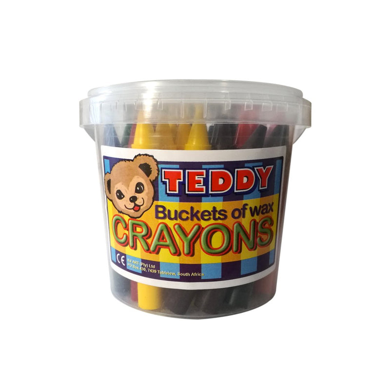 Crafty Kidz Teddy Wax Crayons