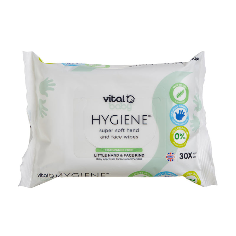 Vital Baby Super Soft Hand & Face Wipes