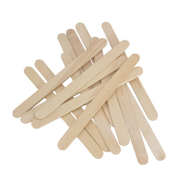 Crafty Kidz Wooden Craft Pop Sticks