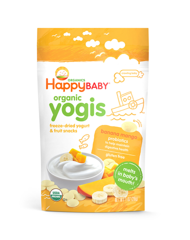 Happy Family Organic Yogis