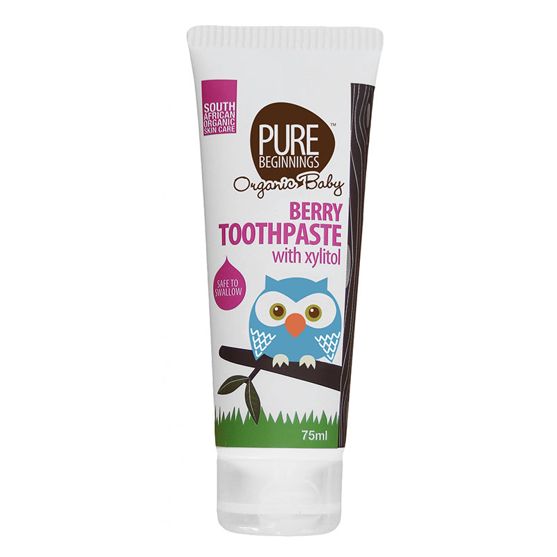 Pure Beginnings Berry Toothpaste with Xylitol - 75ml