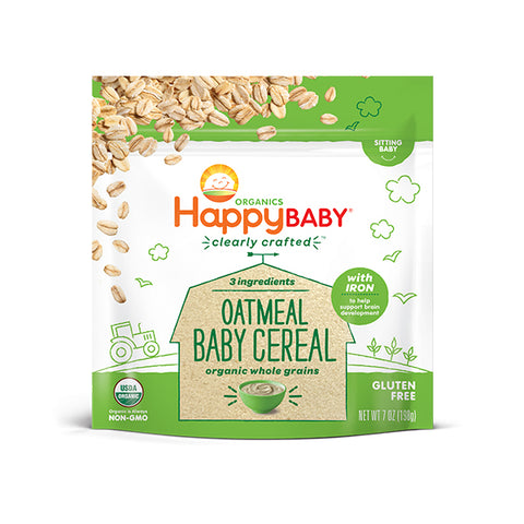 Happy Family Organic Probiotic Baby Cereal