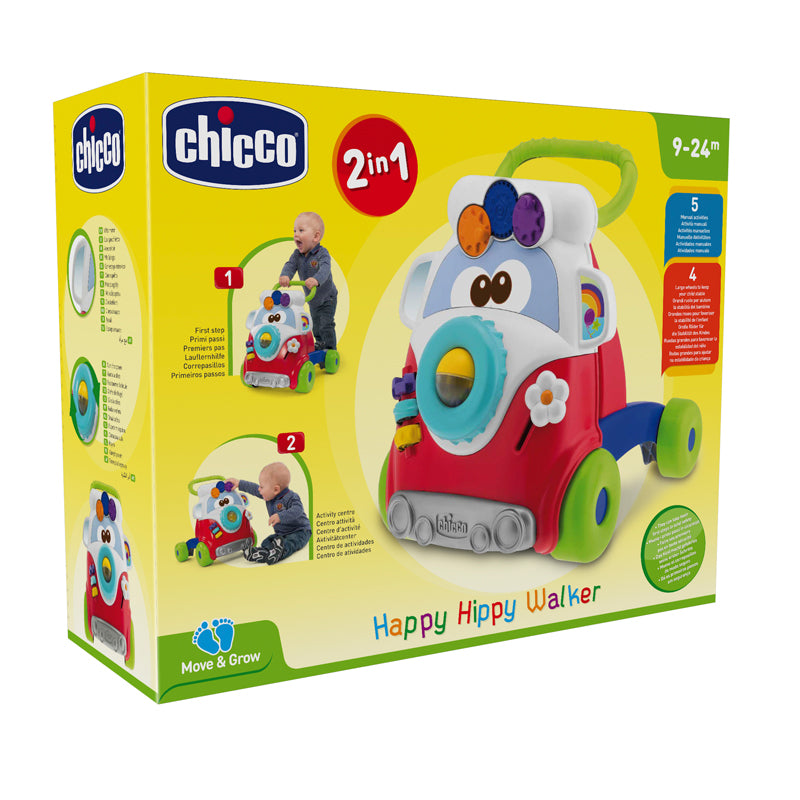 Chicco Move 'n Grow Happy Hippy Walker
